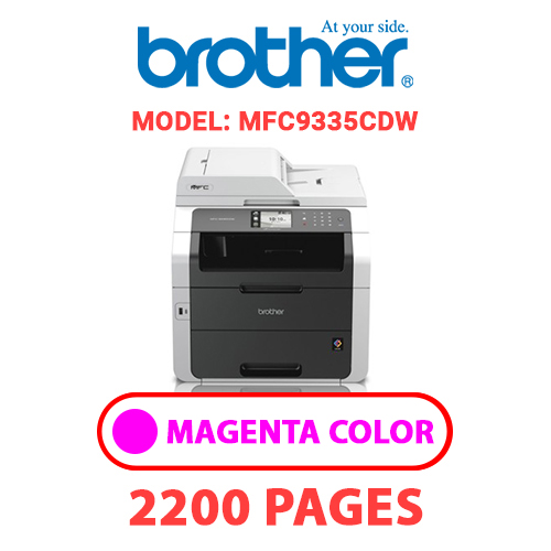 MFC9335CDW 2 - BROTHER MFC9335CDW - MAGENTA TONER
