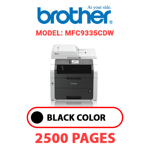 MFC9335CDW - BROTHER MFC9335CDW - BLACK TONER