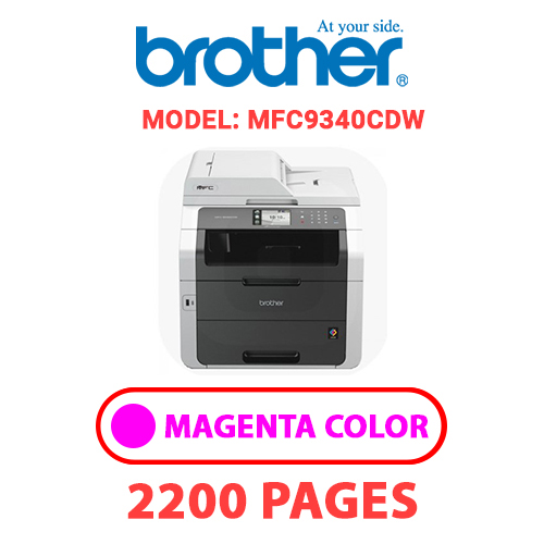 MFC9340CDW 2 - BROTHER MFC9340CDW - MAGENTA TONER
