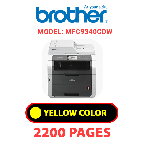 MFC9340CDW 3 - BROTHER MFC9340CDW - YELLOW TONER