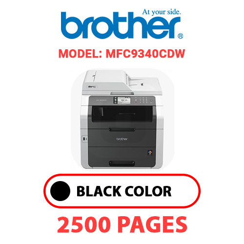 MFC9340CDW - BROTHER MFC9340CDW - BLACK TONER