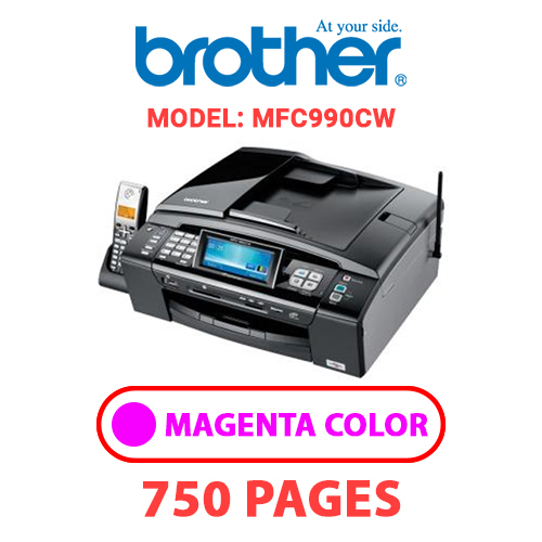 MFC990CW 1 - BROTHER MFC990CW - MAGENTA INK