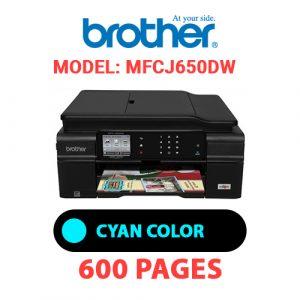MFCJ650DW 1 - Brother Printer