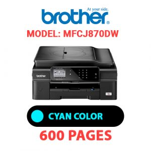 MFCJ870DW 1 - Brother Printer