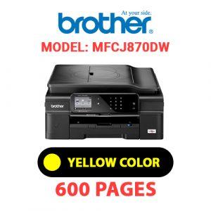 MFCJ870DW 3 - Brother Printer