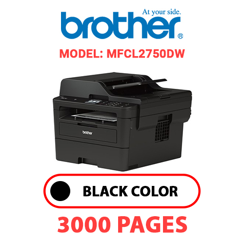 MFCL2750DW 1 - BROTHER MFCL2750DW - BLACK TONER
