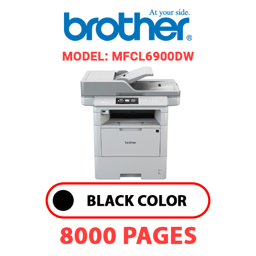MFCL6900DW - BROTHER MFCL6900DW - BLACK TONER