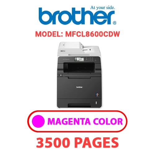 MFCL8600CDW 2 - BROTHER MFCL8600CDW - MAGENTA TONER