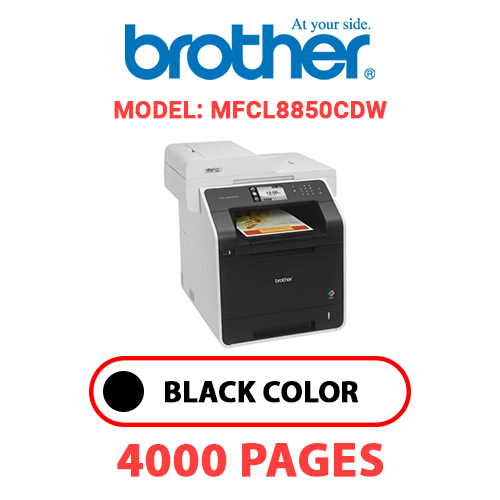 MFCL8850CDW - BROTHER MFCL8850CDW- BLACK TONER
