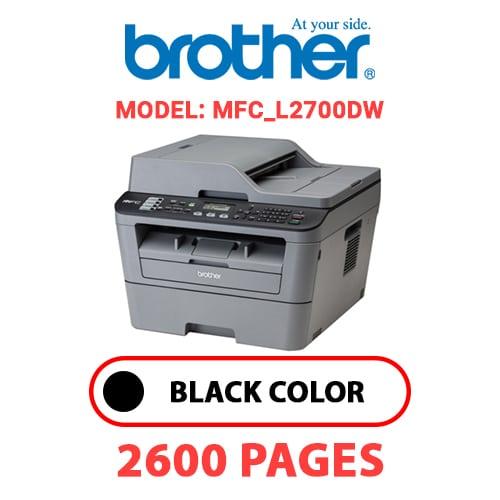 MFC L2700DW 1 - BROTHER HMFC_L2700DW - BLACK TONER