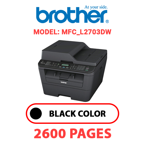 MFC L2703DW 1 - BROTHER MFC_L2703DW - BLACK TONER