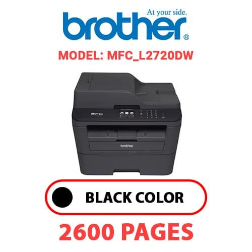 MFC L2720DW 1 - BROTHER MFC_L2720DW - BLACK TONER