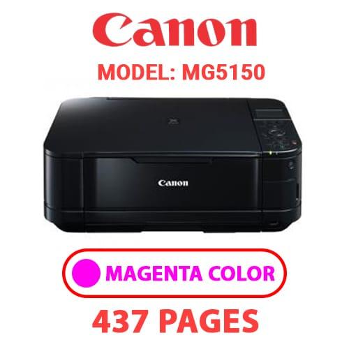 MG5150 3 - CANON MG5150 PRINTER - MAGENTA INK