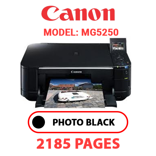 MG5250 1 - CANON MG5250 PRINTER - PHOTO BLACK INK