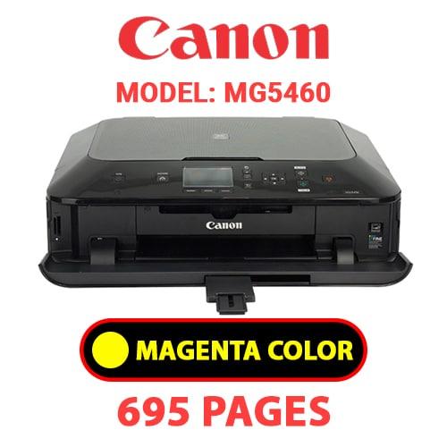 MG5460 4 - CANON MG5460 PRINTER - YELLOW INK