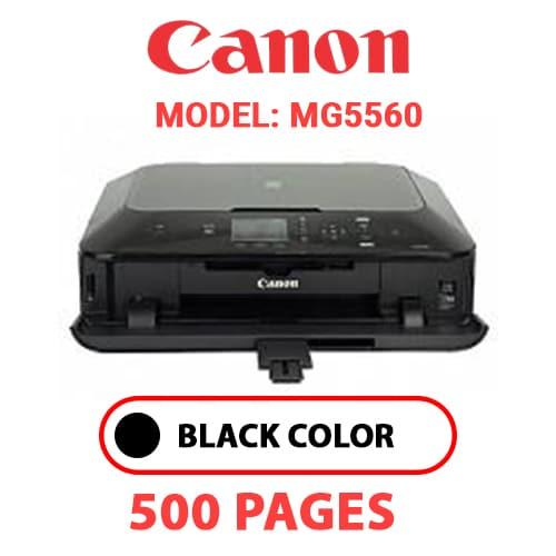 MG5560 - CANON MG5560 PRINTER - BLACK INK