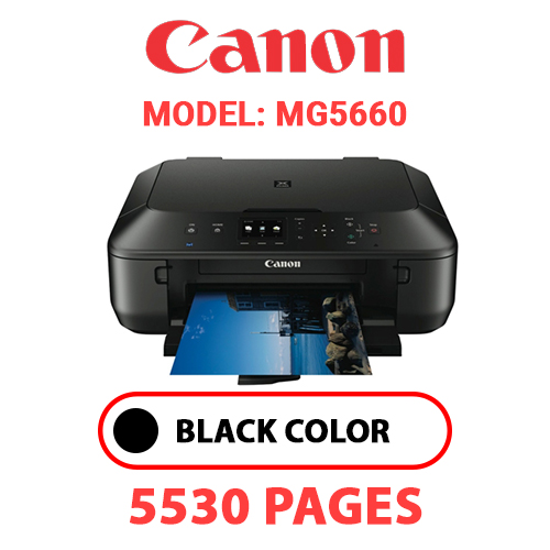 MG5660 1 - CANON MG5660 PRINTER - BLACK INK