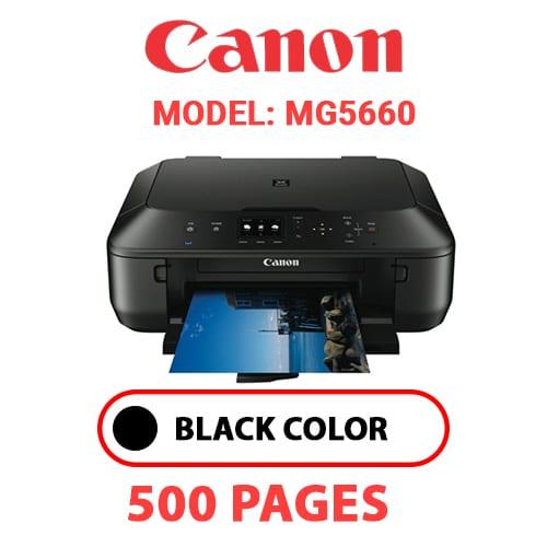 MG5660 - CANON MG5660 PRINTER - BLACK INK