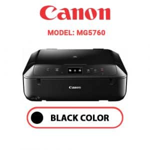 MG5760 1 - Canon Printer