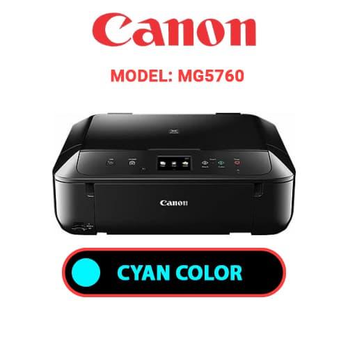 MG5760 2 - CANON MG5760 - CYAN INK