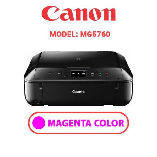 MG5760 3 - CANON MG5760 - MAGENTA INK