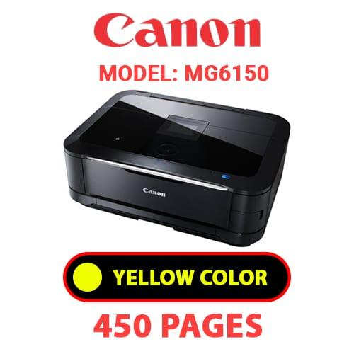 MG6150 4 - CANON MG6150 PRINTER - YELLOW INK