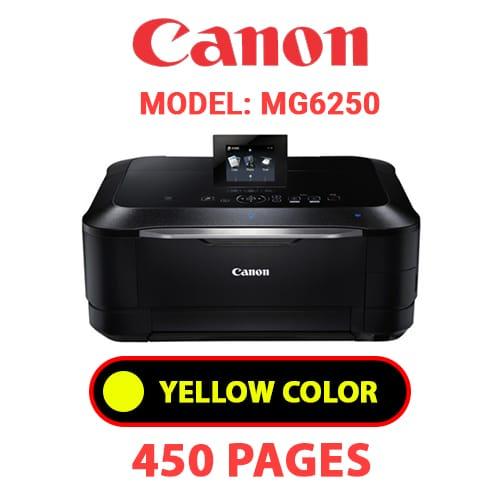 MG6250 4 - CANON MG6250 PRINTER - YELLOW INK