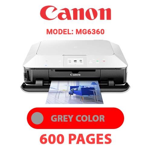 MG6360 5 - CANON MG6360 PRINTER - GREY INK