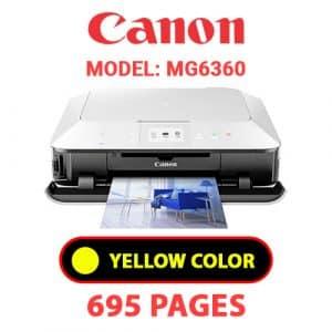 MG6360 6 - Canon Printer