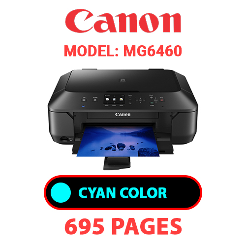 MG6460 2 - CANON MG6460 PRINTER - CYAN INK