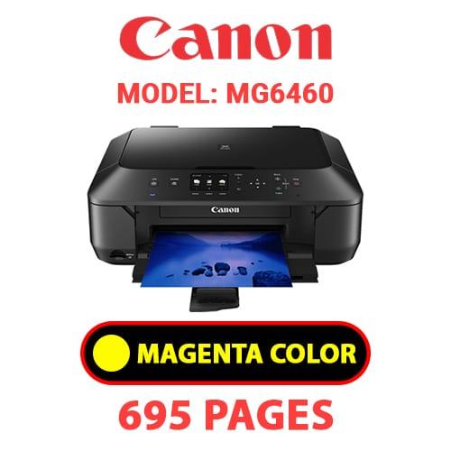 MG6460 4 - CANON MG6460 PRINTER - YELLOW INK