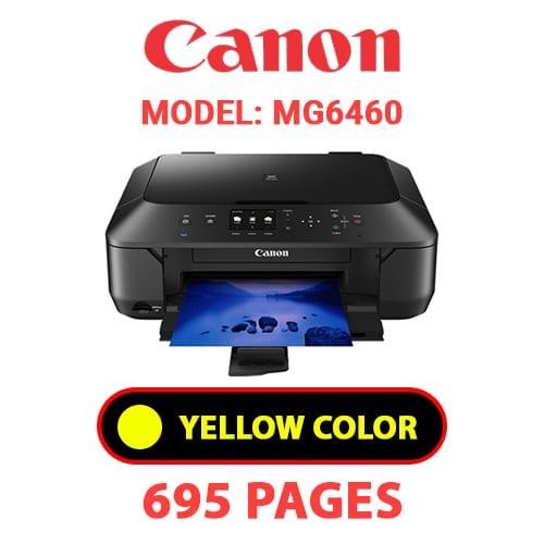 MG6460 5 - CANON MG6460 PRINTER - YELLOW INK