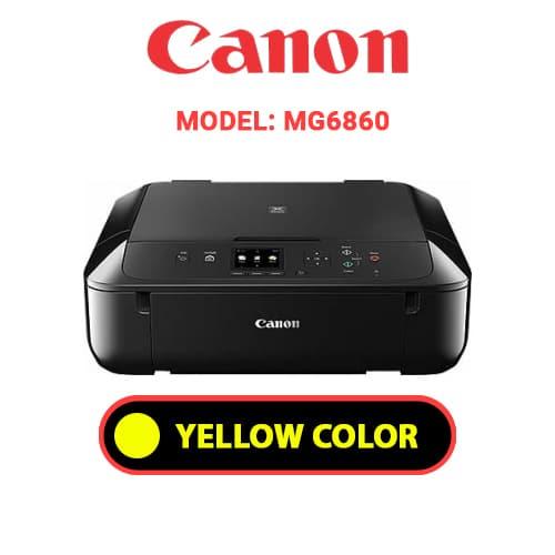 MG6860 4 - CANON MG6860 - YELLOW INK