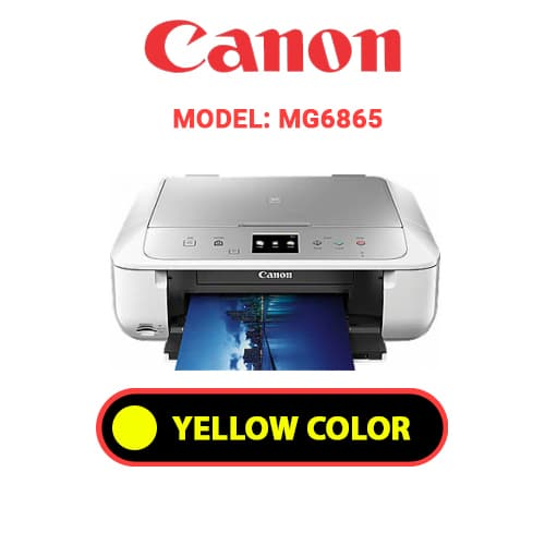 MG6865 4 - CANON MG6865 - YELLOW INK