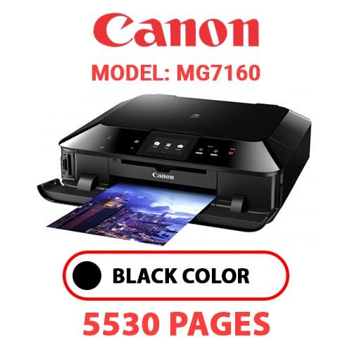 MG7160 1 - CANON MG7160 PRINTER - BLACK INK