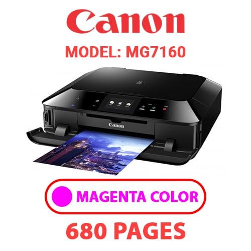 MG7160 3 - CANON MG7160 PRINTER - MAGENTA INK