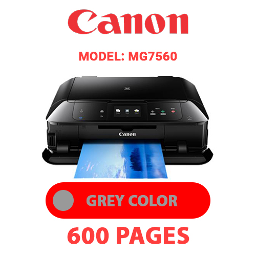 MG7560 5 - CANON MG7560 PRINTER - GREY INK