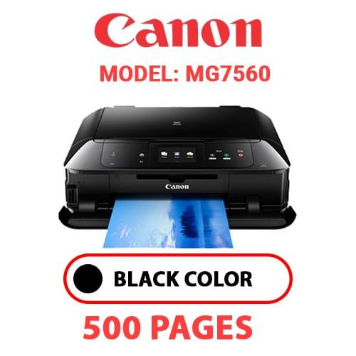 MG7560 - CANON MG7560 PRINTER - BLACK INK