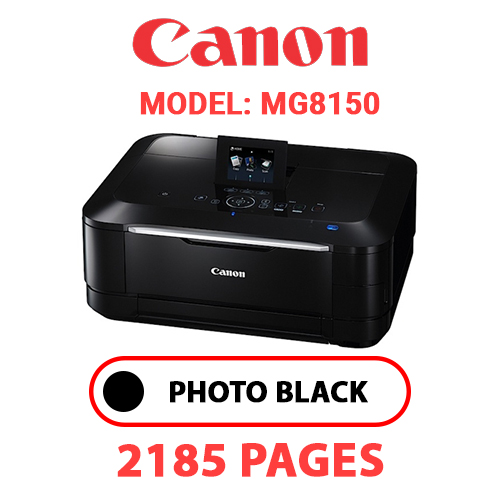 MG8150 1 - CANON MG8150 PRINTER - PHOTO BLACK INK