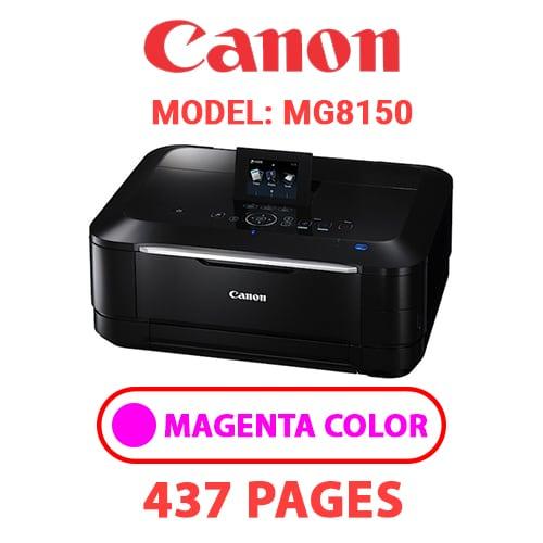 MG8150 3 - CANON MG8150 PRINTER - MAGENTA INK