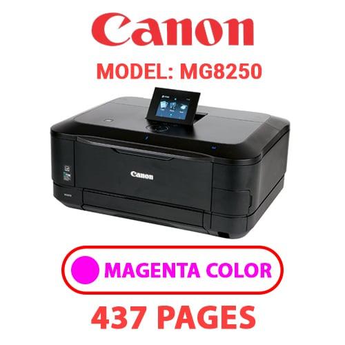 MG8250 3 - CANON MG8250 PRINTER - MAGENTA INK