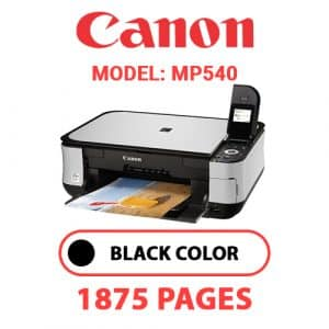 MP540 1 - Canon Printer