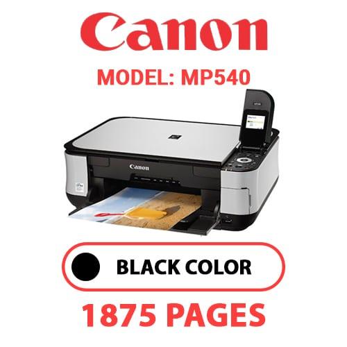 MP540 1 - CANON MP540 PRINTER - BLACK INK
