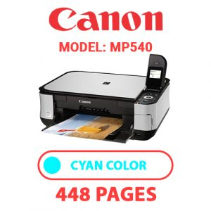 MP540 2 - Canon Printer