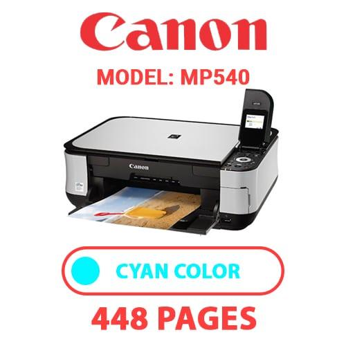 MP540 2 - CANON MP540 PRINTER - CYAN INK