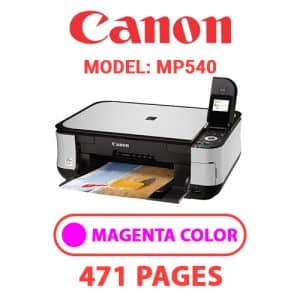 MP540 3 - Canon Printer