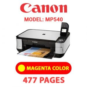 MP540 4 - Canon Printer