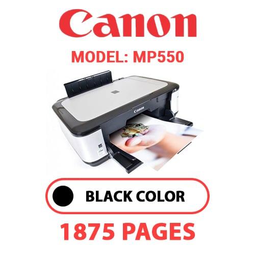 MP550 1 - CANON MP550 PRINTER - BLACK INK