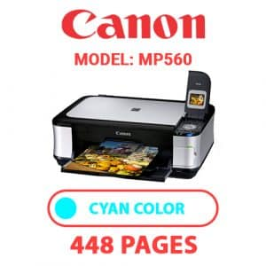 MP560 2 - Canon Printer