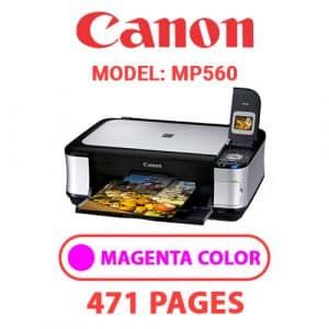 MP560 3 - Canon Printer